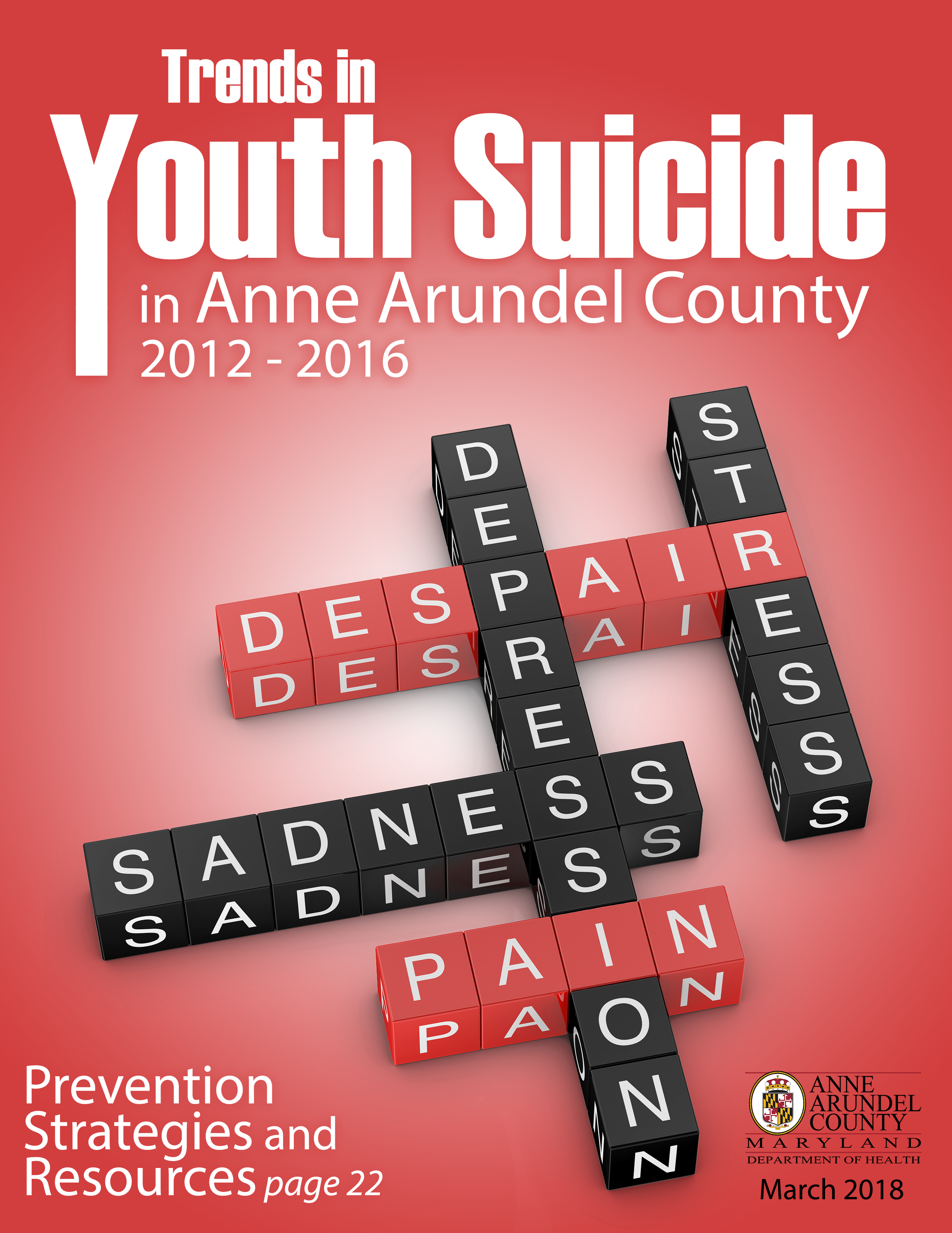 Trends in Youth Suicide in Anne Arundel County 2012-2016